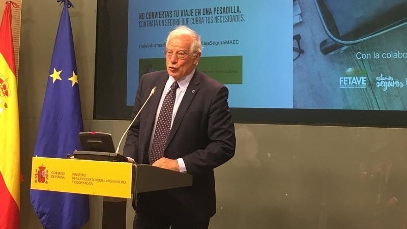 Borrell revela que Trump sugirió construir un muro en el Sáhara para evitar la llegada de inmigrantes a Europa