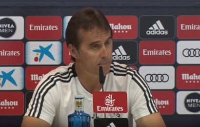 Duro comunicado del Real Madrid para destituir a Lopetegui; Solari será el sustituto provisional
