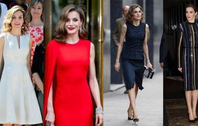 Los sorprendentes cambios de looks de la Reina Letizia y su espectacular estilo