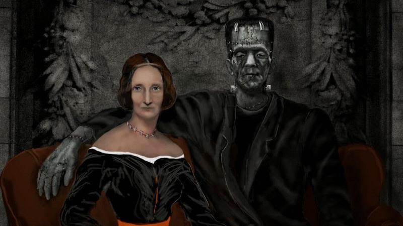 Mary Shelley y su famoso personaje Frankenstein