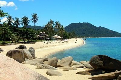 Playa de Lamai en Koh Samui