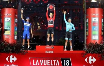 Simon Yates gana La Vuelta a España y Enric Mas se alza con el segundo lugar del podio
