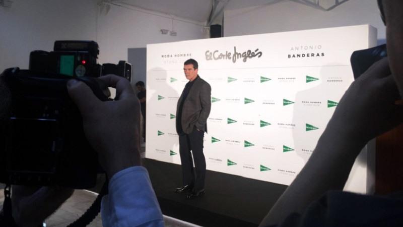 Antonio Banderas sera la nueva imagen de El Corte Ingles