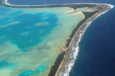 La capital de Tuvalu, Funafuti