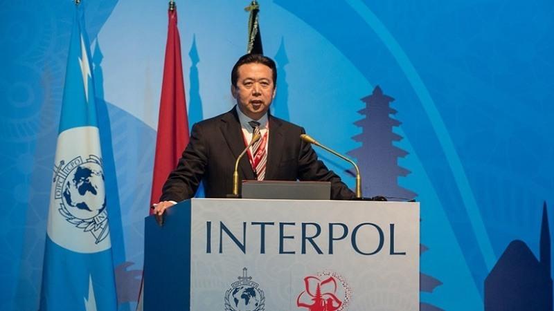 Presidente de Interpol Meng Hongwei