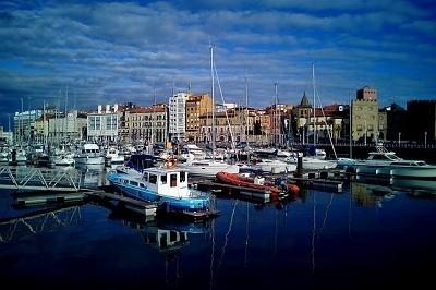 Puerto de Gijon