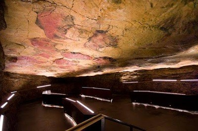 Gran sala de los policromos, la cueva de Altamira