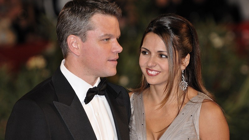 Matt Damon y Luciana Barroso: ¡la increíble historia de amor y matrimonio con una fan!
