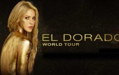 """Shakira y """"El Dorado World Tour"""" por Latinoamérica"""