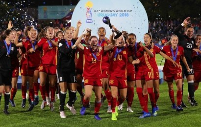 La Selección Española de Fútbol Femenino Sub 17 conquista su primer Mundial