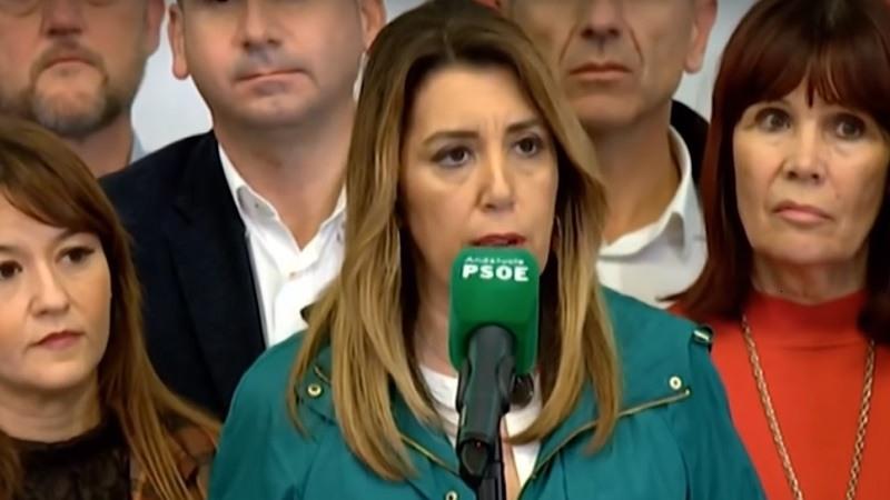 Susana Díaz hace un llamamiento a los constitucionalistas para frenar a Vox