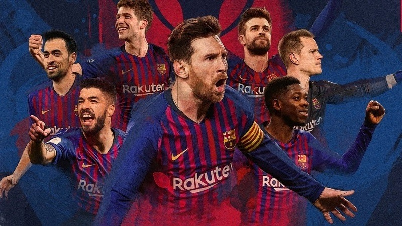 El Barcelona gana la liga