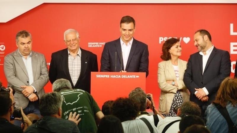 El PSOE gana las elecciones y el PP mantiene el tipo