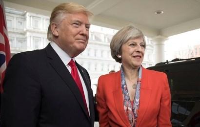 Un Reino Unido agitado por el Brexit despliega la alfombra roja a Donald Trump