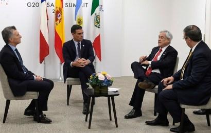 Pedro Sánchez congrega por primera vez a la comunidad iberoamericana en los márgenes del G-20