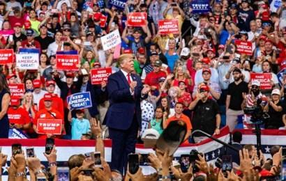 """Trump lanza su campaña de reelección: """"Estados Unidos nunca será un país socialista"""""""