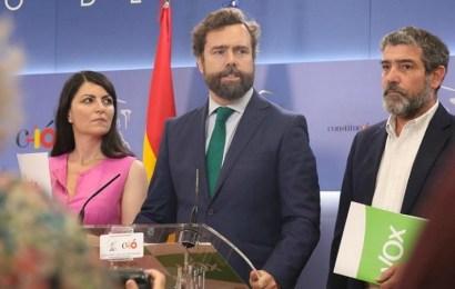 VOX da por rotas las negociaciones y pasa a la oposición