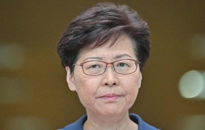 """La líder de Hong Kong, Carrie Lam, dice que el proyecto de ley de extradición está """"muerto"""""""