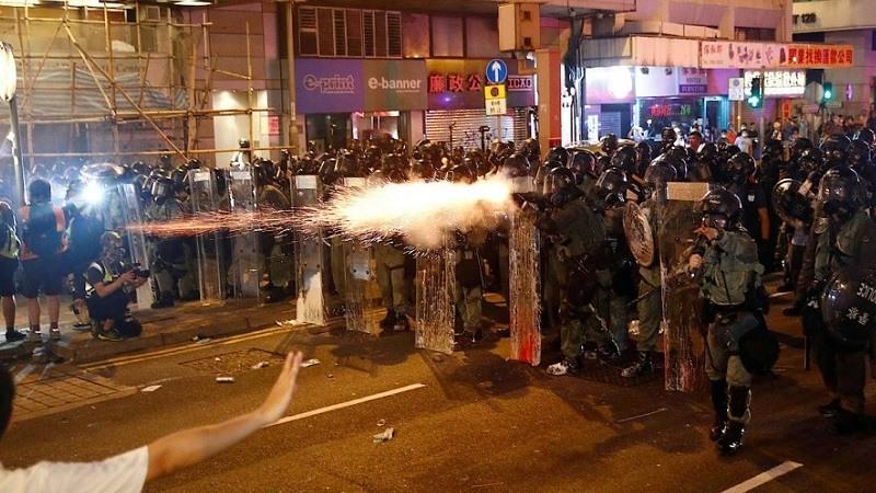 Hong Kong continuan las protestas