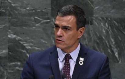Pedro Sánchez anuncia ante Naciones Unidas la exhumación de Francisco Franco