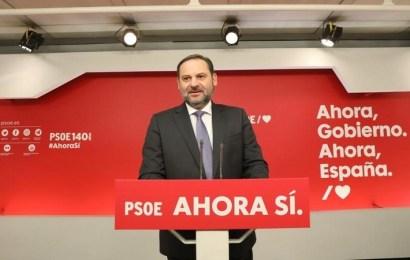 """Ábalos: """"Nos comprometemos a que España tenga un gobierno progresista"""""""
