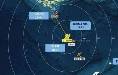 Desaparece un avión militar chileno con 38 pasajeros que se dirigía a la Antártida