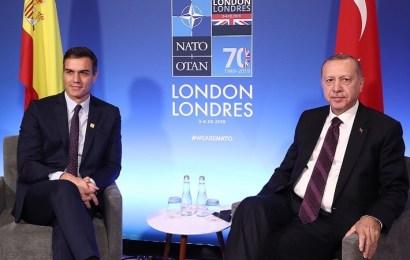 Erdoğan agradece a España el mantenimiento de la misión en Turquía en el marco de la Alianza Atlántica