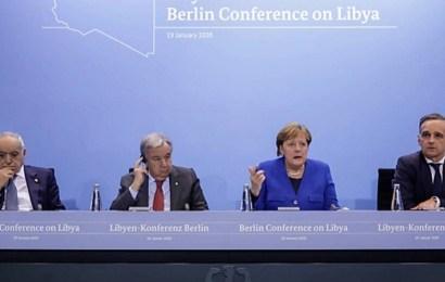Los líderes mundiales acuerdan dar una solución política al conflicto de Libia