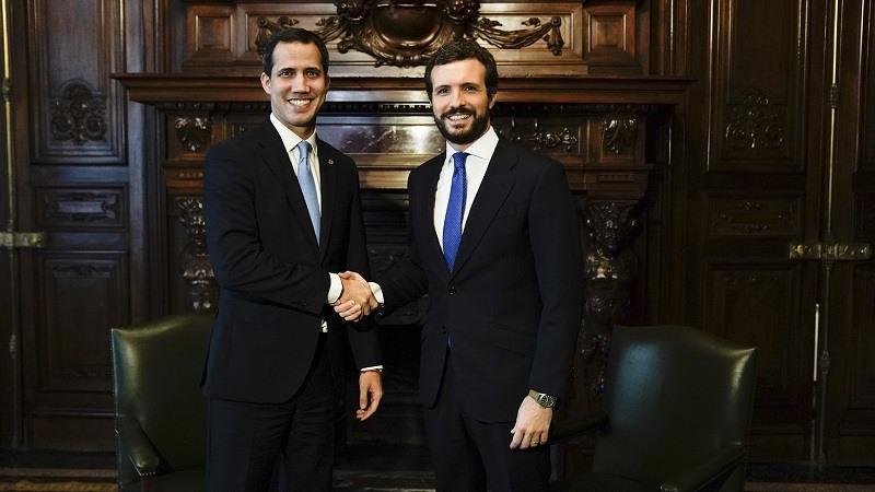 """Casado pide el cese """"inmediato"""" de Ábalos y reprocha a Sánchez no haber recibido a Guaidó"""