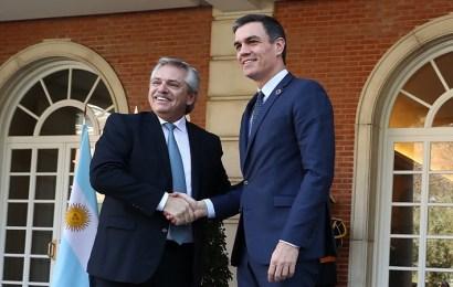 Pedro Sánchez y Alberto Fernández relanzan las relaciones bilaterales entre España y Argentina