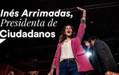 Inés Arrimadas gana las primarias a la presidencia de Ciudadanos