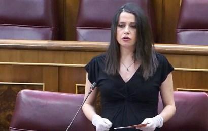 Arrimadas: 'Cs ha conseguido que el Gobierno desvincule las ayudas del estado de alarma, prepare un plan B y tenga más interlocución con la oposición'