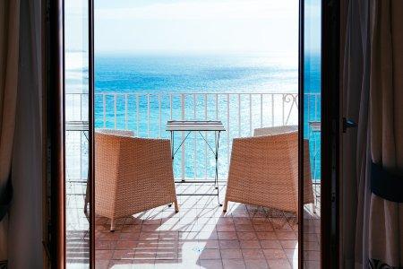 Terraza estilo mediterráneo