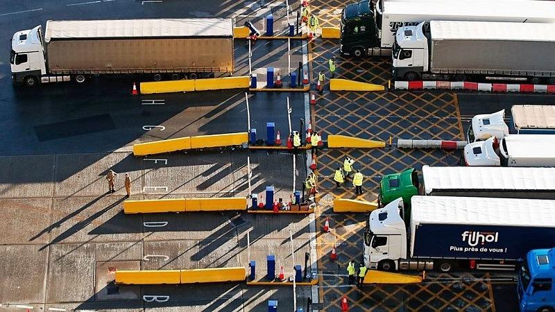 Trasportistas espanoles Reino Unido