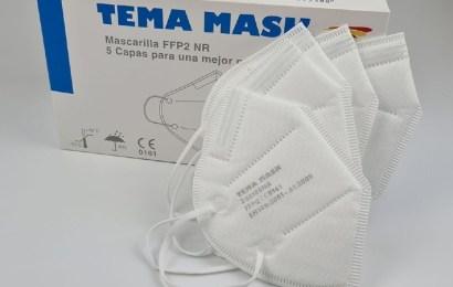 Las mascarillas FFP2 certificadas Tema Mask de Temaer
