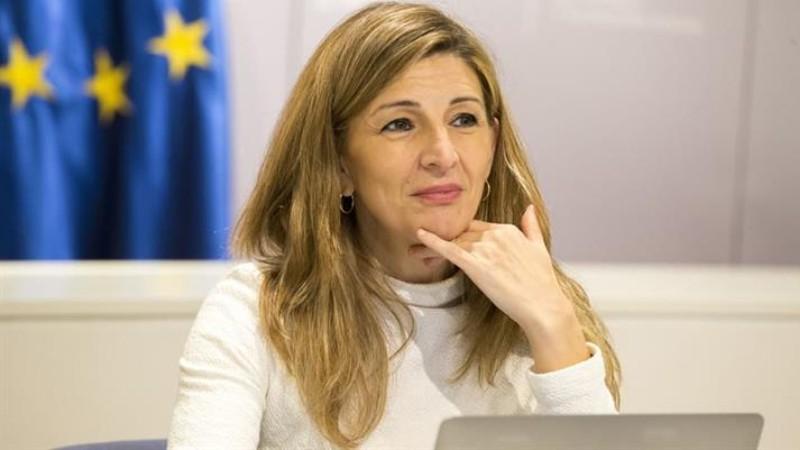 Yolanda Díaz plantea estrategias de empleo de calidad para salir de la crisis y avanzar hacia una Europa más social