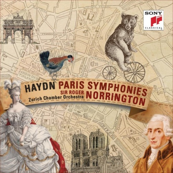 Haydn  Paris Symphonies  Cd  Sony 88875021332