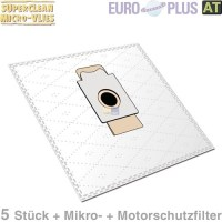 Filterbeutel Europlus EIO1603mV, Europlus EIO 1603 Micro ...