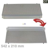 Fettfilter eckig Metallfettfilter vorne 542x210mm Bosch ...