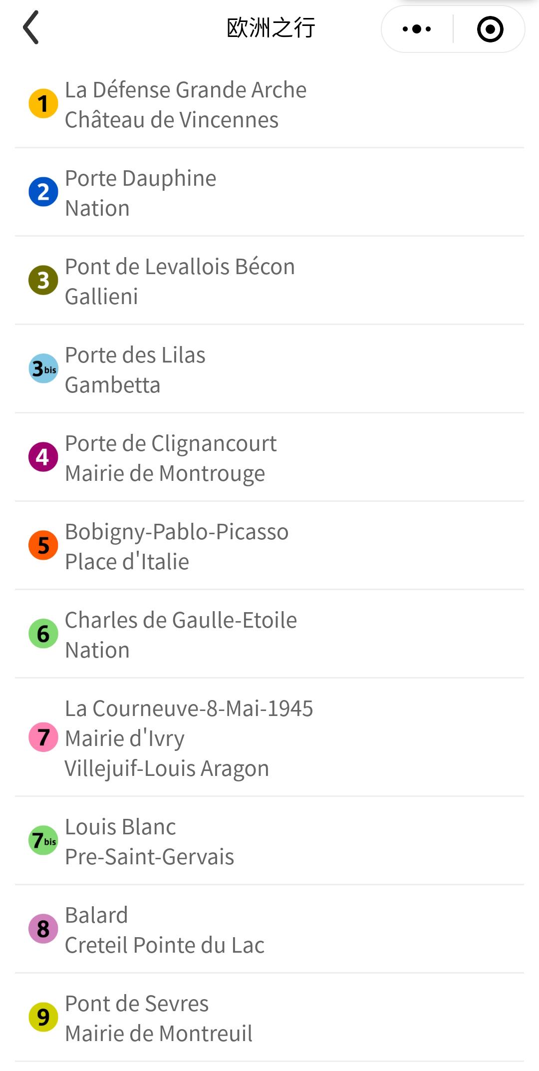 RATP WeChat ticketing mini-Program