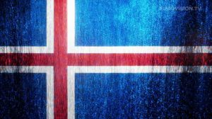 Postcard flags of Eurovision 2014 - Iceland
