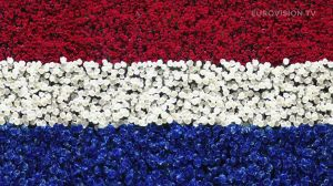 Postcard flags of Eurovision 2014 - TheNetherlands