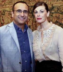 Vanessa Incontrada e Carlo Conti presentano i Musica Awards 2014