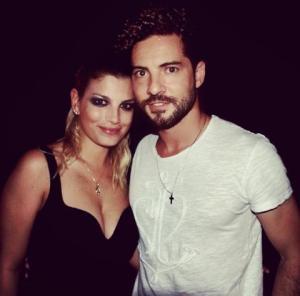Emma e David Bisbal