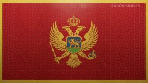 Postcard flags of Eurovision 2014 - Montenegro