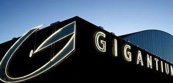 The Gigantium Arena in Aalborg