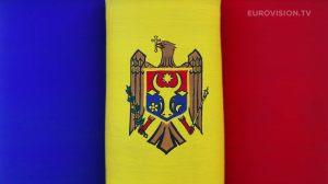 Postcard flags of Eurovision 2014 - Moldova