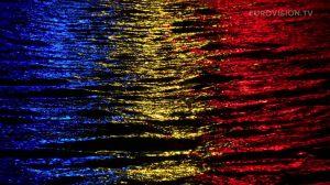 Postcard flags of Eurovision 2014 - Romania
