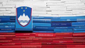 Postcard flags of Eurovision 2014 - Slovenia