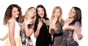 Nella foto The Peppermints (da sinistra): Raffaella, Greta, Anita, Arianna, Sara.
